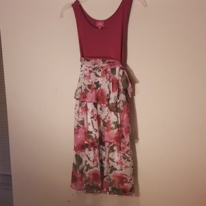 Fuschia Girls dress